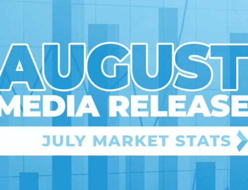 August Media Release: July Market Stats