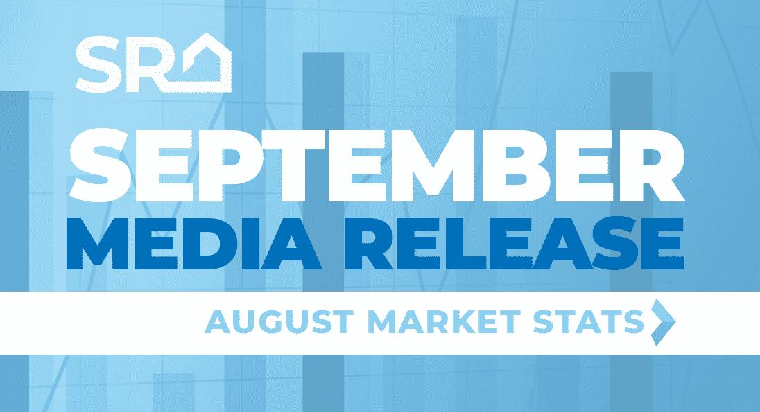 September Media Release: August Market Statistics